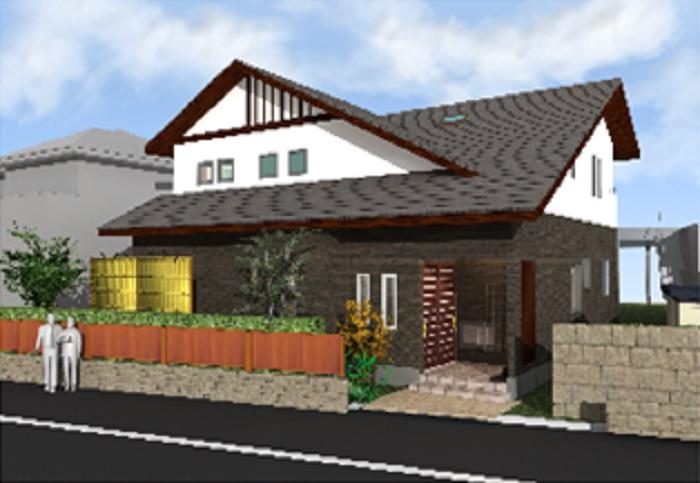 大屋根 4世代が暮らす家