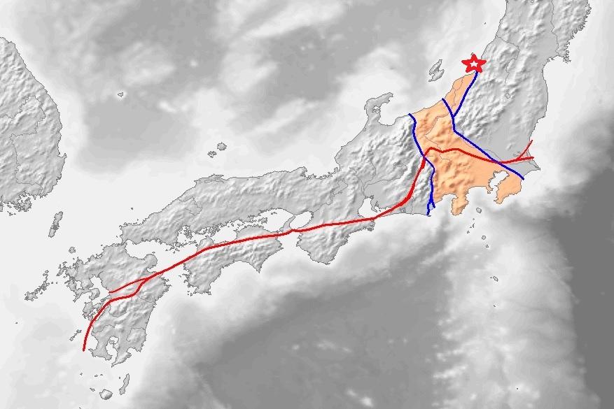 中央構造線帯で新潟地震 フォッサマグナで、今何が起きている。人命救助