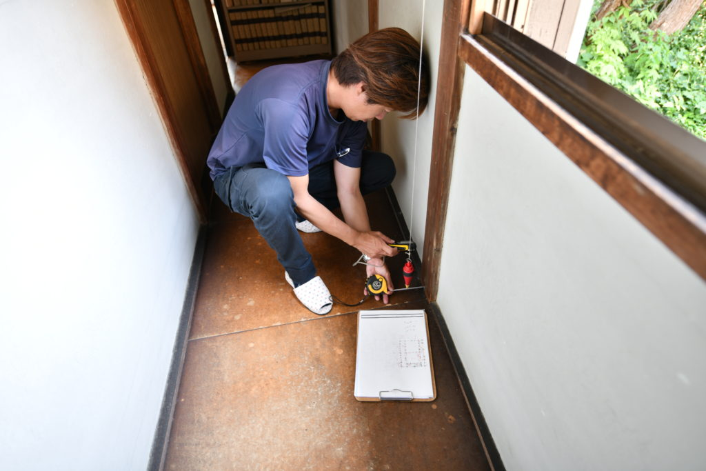 地震対策 建物精密診断実施 重心・剛心 補強計画