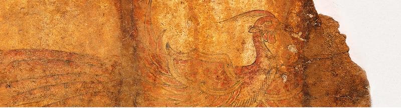 明日香村のキトラ古墳 四獣神 『ひのきの家』