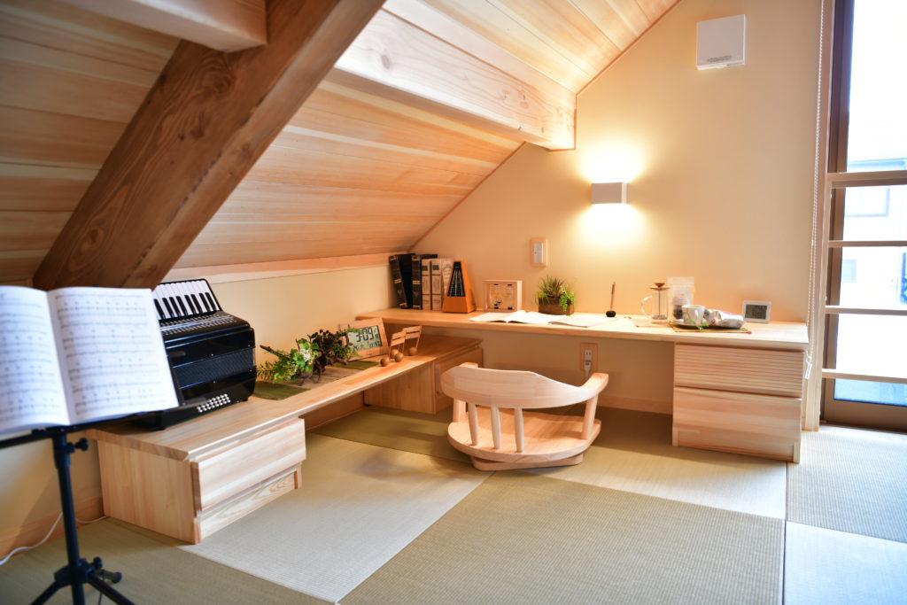 今注目の平屋建て住宅。ロフト空間の天井高を考える。